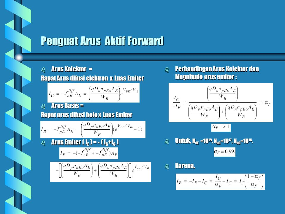 Penguat Arus Aktif Forward