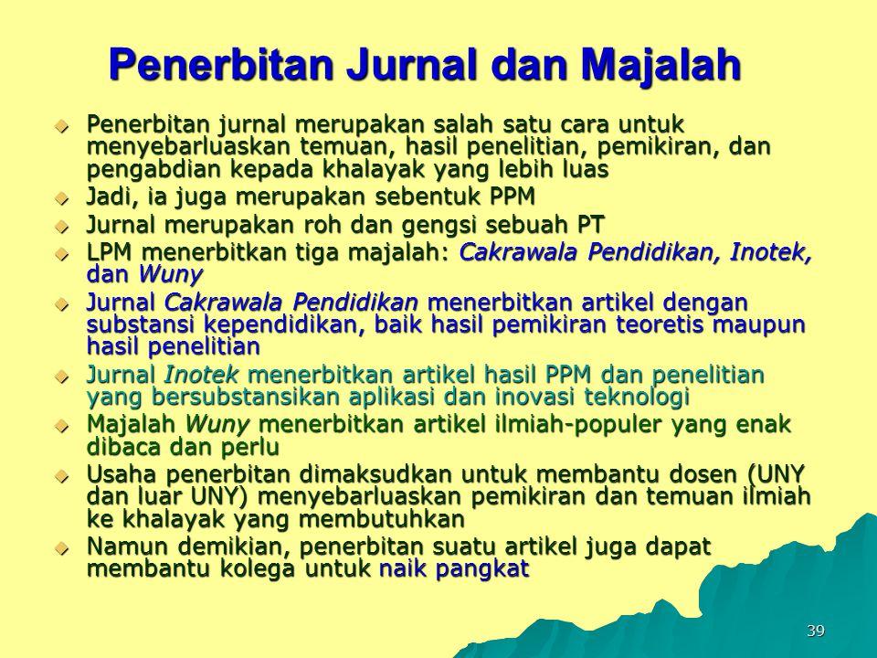 Penerbitan Jurnal dan Majalah