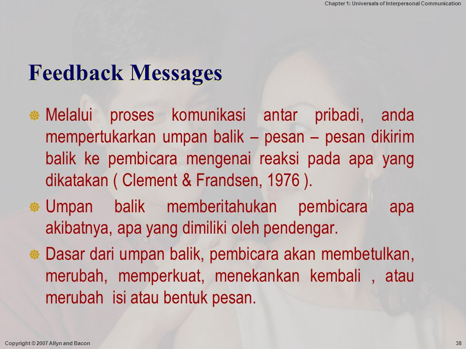 Feedback Messages