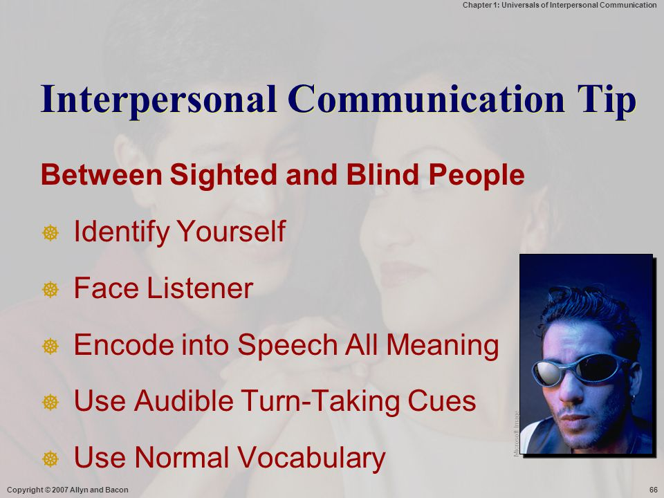 Interpersonal Communication Tip