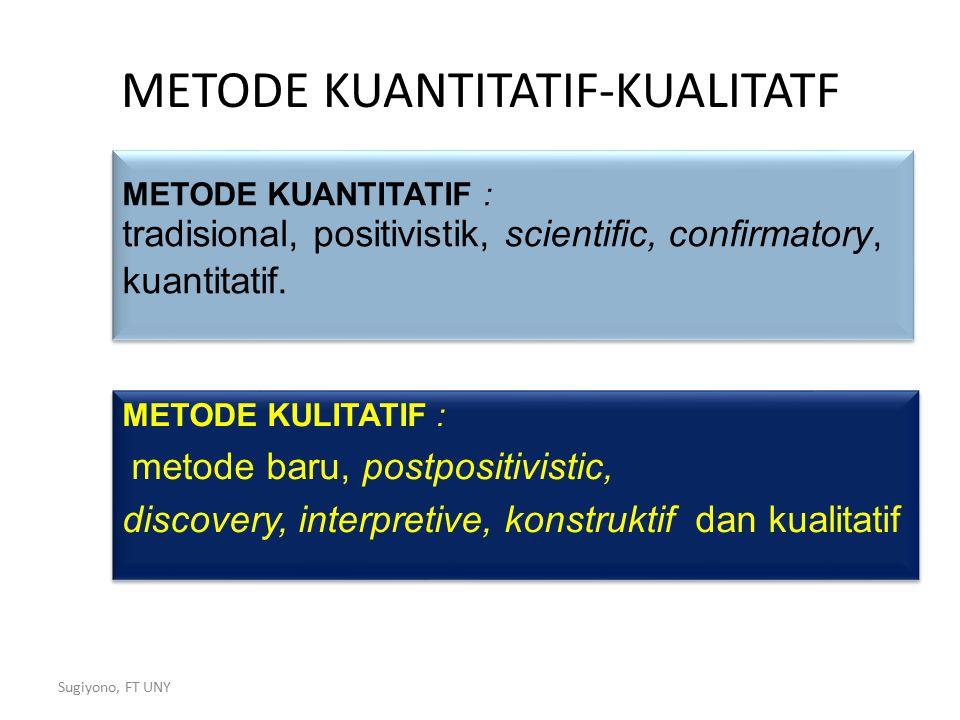 METODE KUANTITATIF-KUALITATF