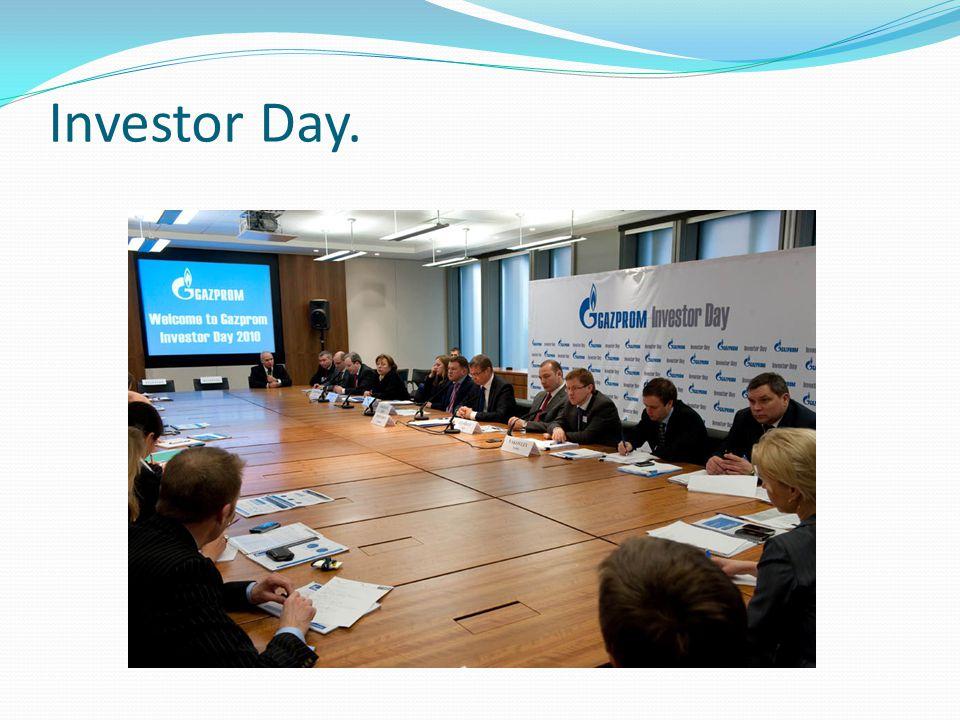 Investor Day.