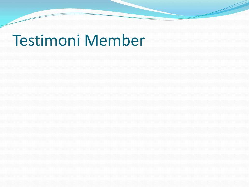 Testimoni Member