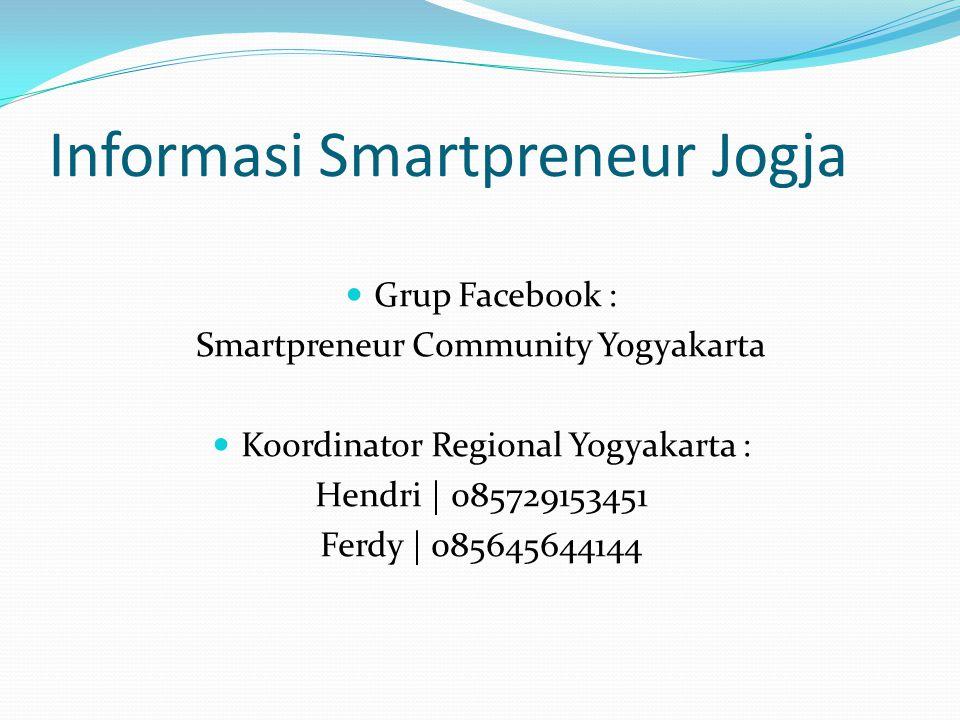 Informasi Smartpreneur Jogja
