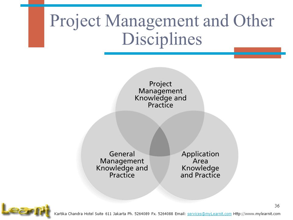 Project Management and Other Disciplines
