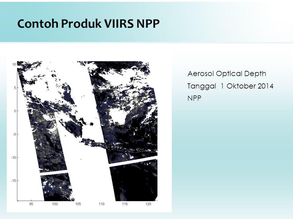 Contoh Produk VIIRS NPP