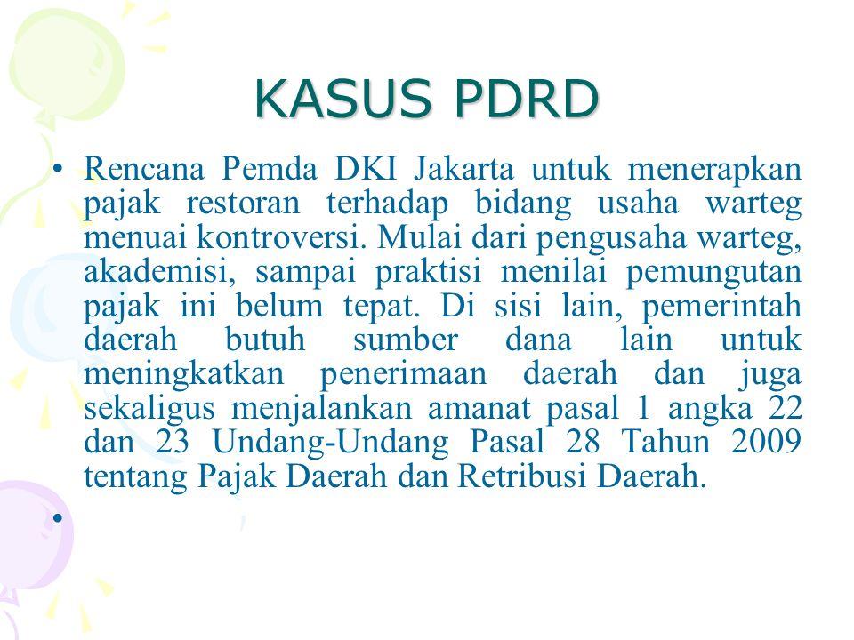 KASUS PDRD
