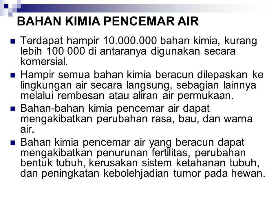 BAHAN KIMIA PENCEMAR AIR