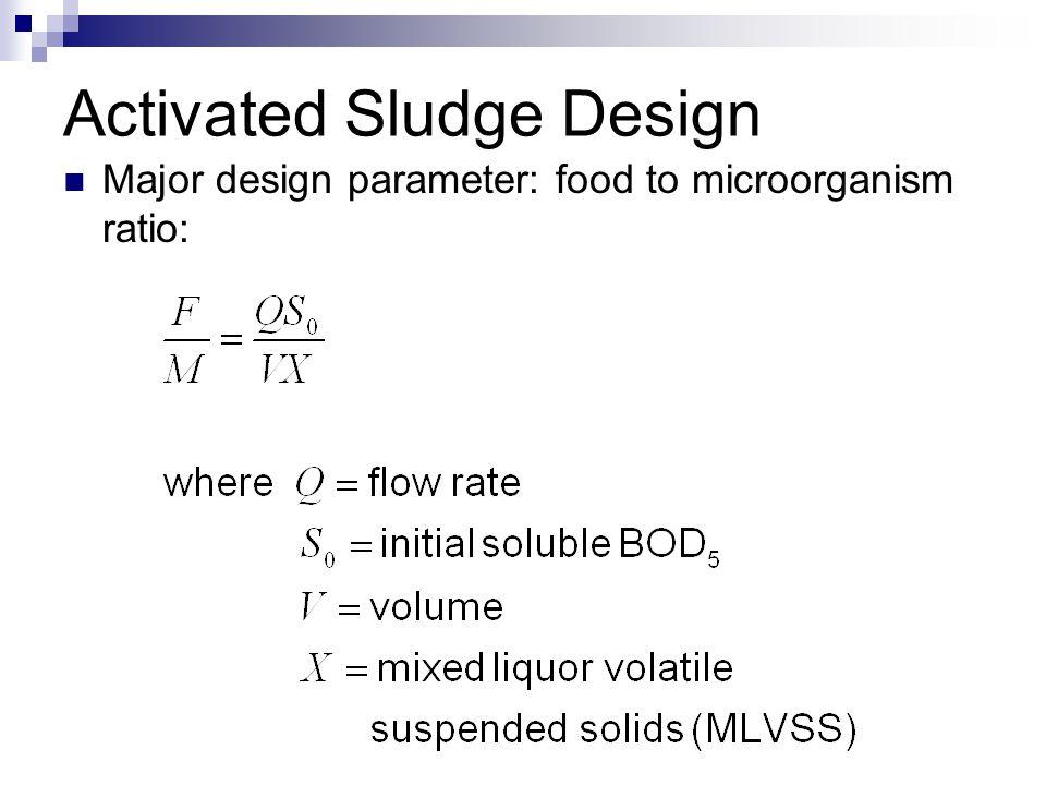 Activated Sludge Design