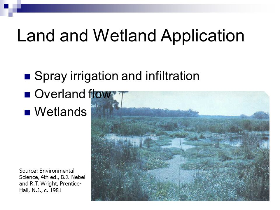 Land and Wetland Application