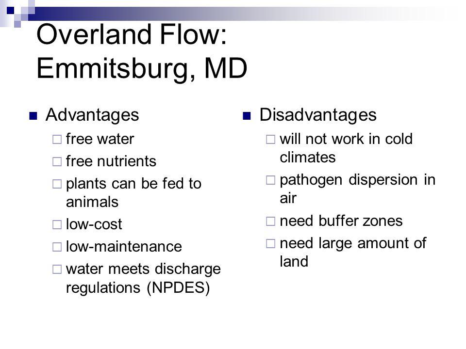 Overland Flow: Emmitsburg, MD