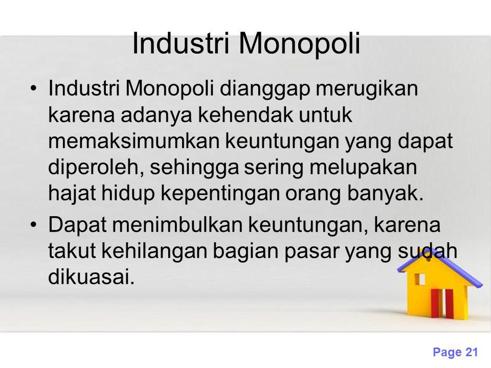 Industri Monopoli
