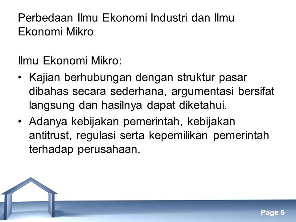 Perbedaan Ilmu Ekonomi Industri dan Ilmu Ekonomi Mikro