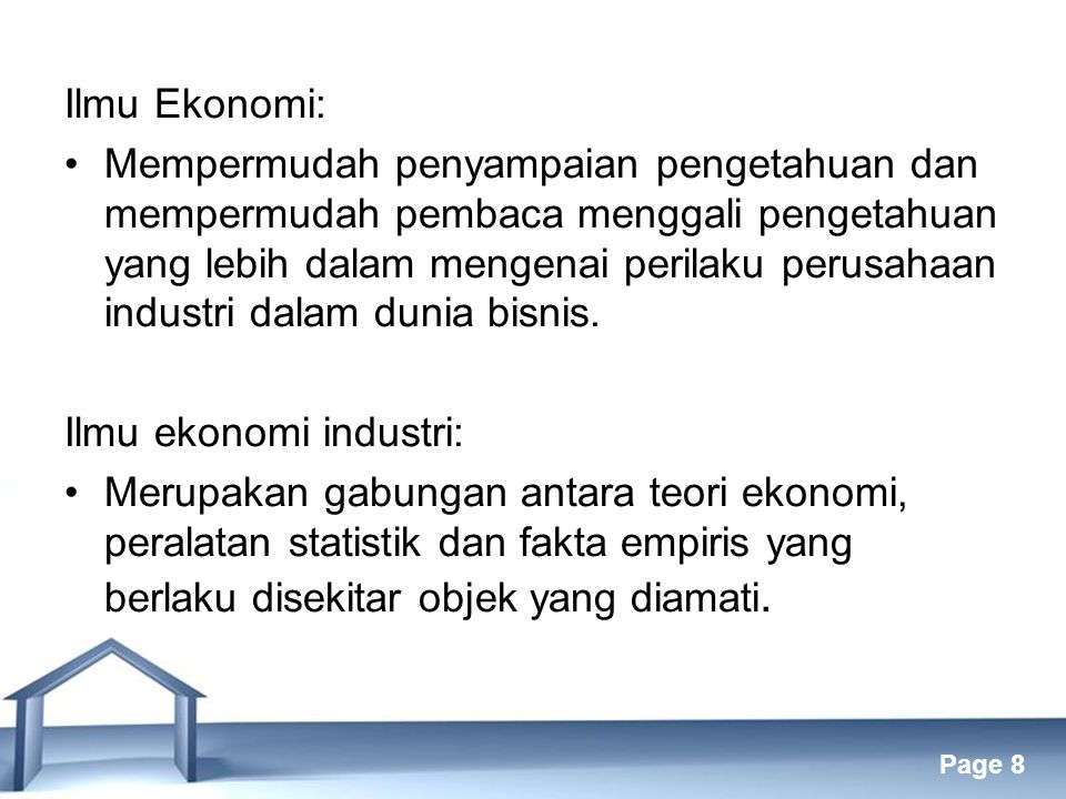 Ilmu Ekonomi: