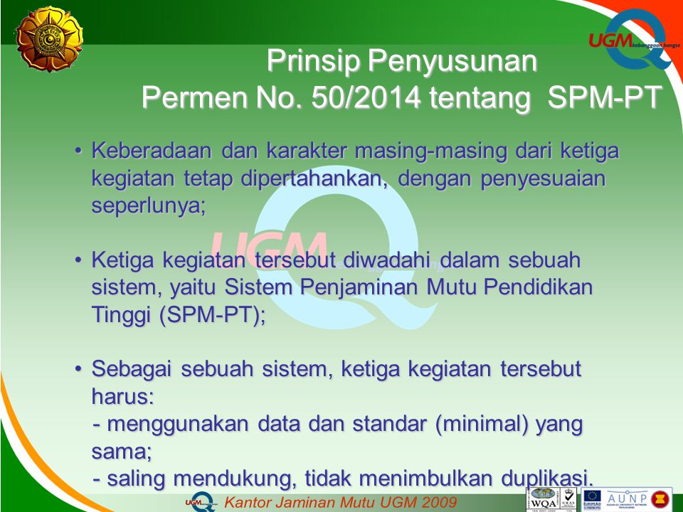 Permen No. 50/2014 tentang SPM-PT