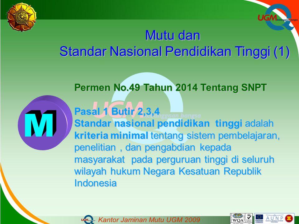 Standar Nasional Pendidikan Tinggi (1)