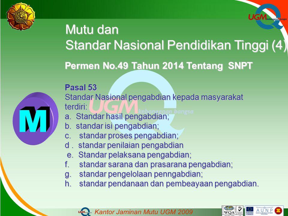 M Mutu dan Standar Nasional Pendidikan Tinggi (4)