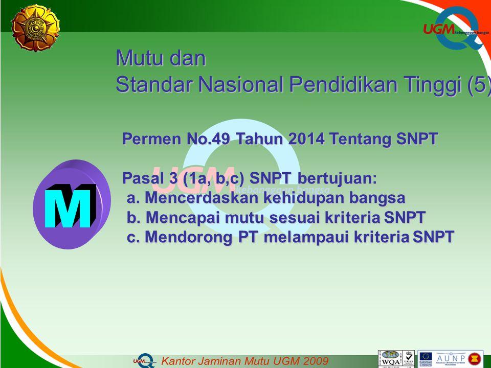M Mutu dan Standar Nasional Pendidikan Tinggi (5)
