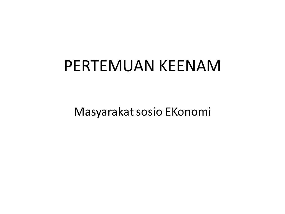Masyarakat sosio EKonomi