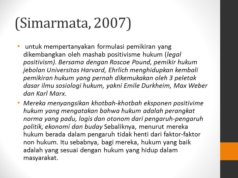 (Simarmata, 2007)