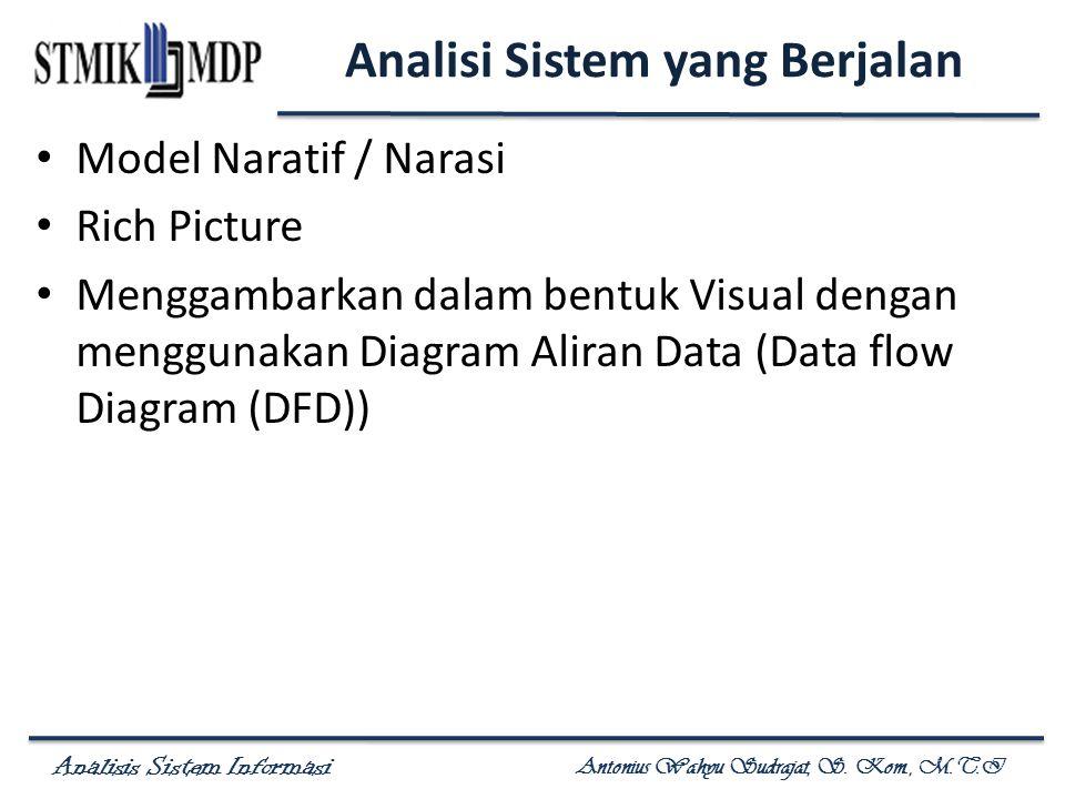 Analisi Sistem yang Berjalan