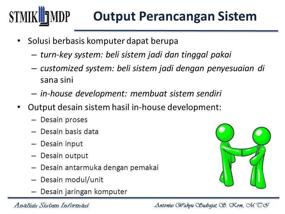 Output Perancangan Sistem