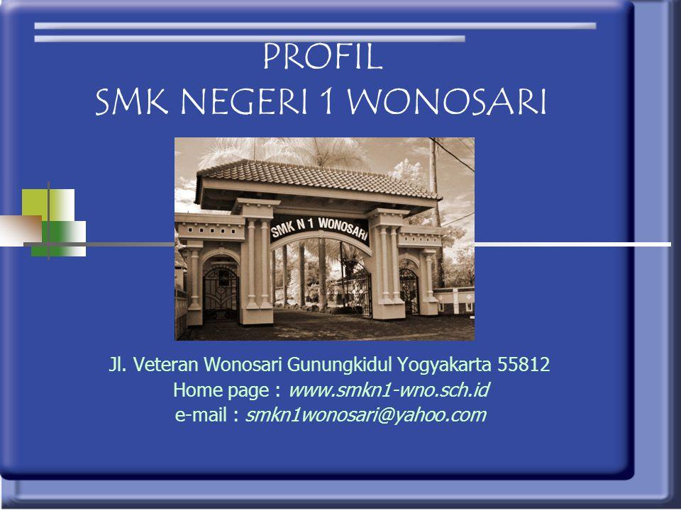 PROFIL SMK NEGERI 1 WONOSARI
