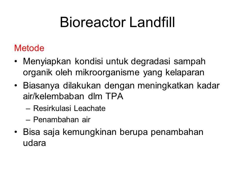 Bioreactor Landfill Metode
