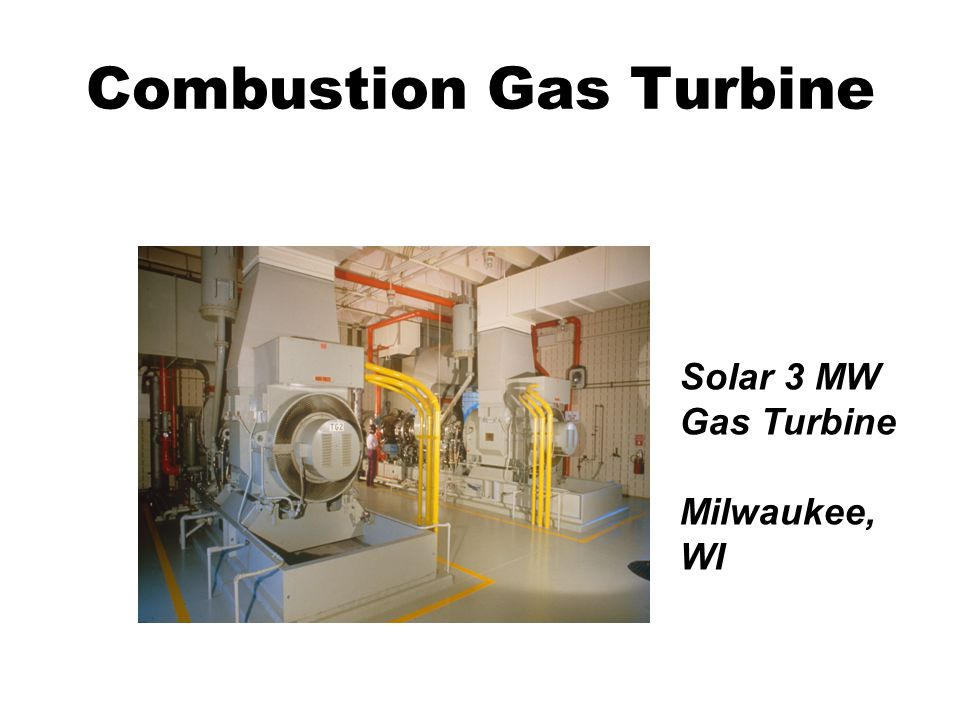 Combustion Gas Turbine