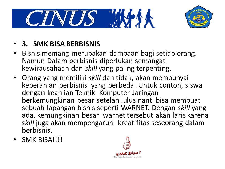 CINUS 3. SMK BISA BERBISNIS