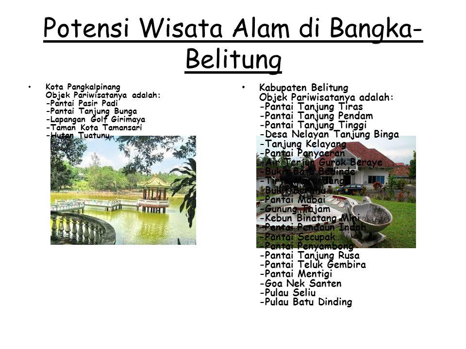 Potensi Wisata Alam di Bangka-Belitung