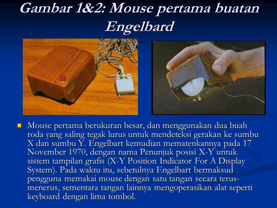 Gambar 1&2: Mouse pertama buatan Engelbard