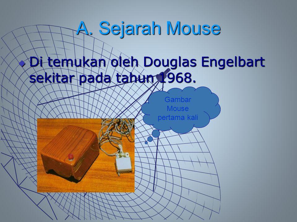 Gambar Mouse pertama kali