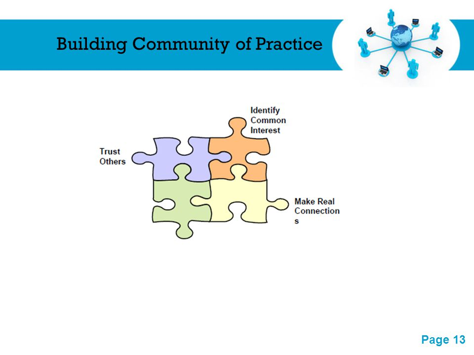 Building Community of Practice