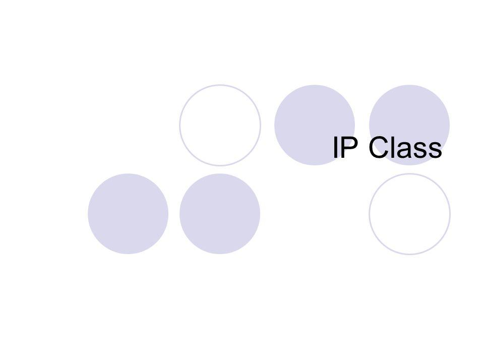 IP Class