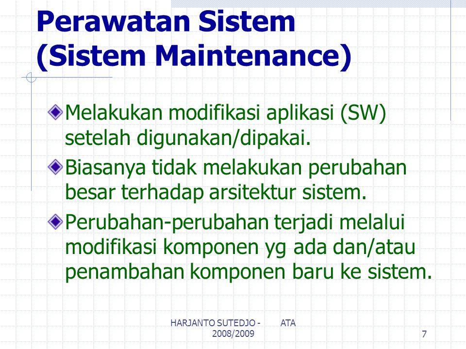 Perawatan Sistem (Sistem Maintenance)