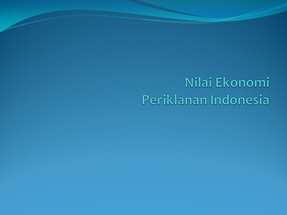 Nilai Ekonomi Periklanan Indonesia