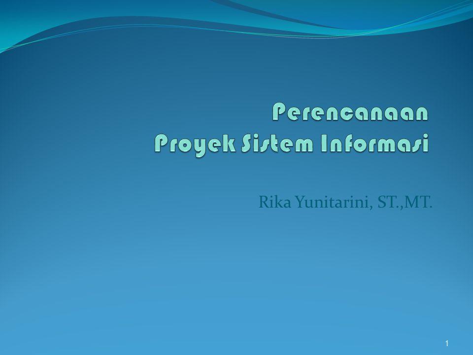 Perencanaan Proyek Sistem Informasi