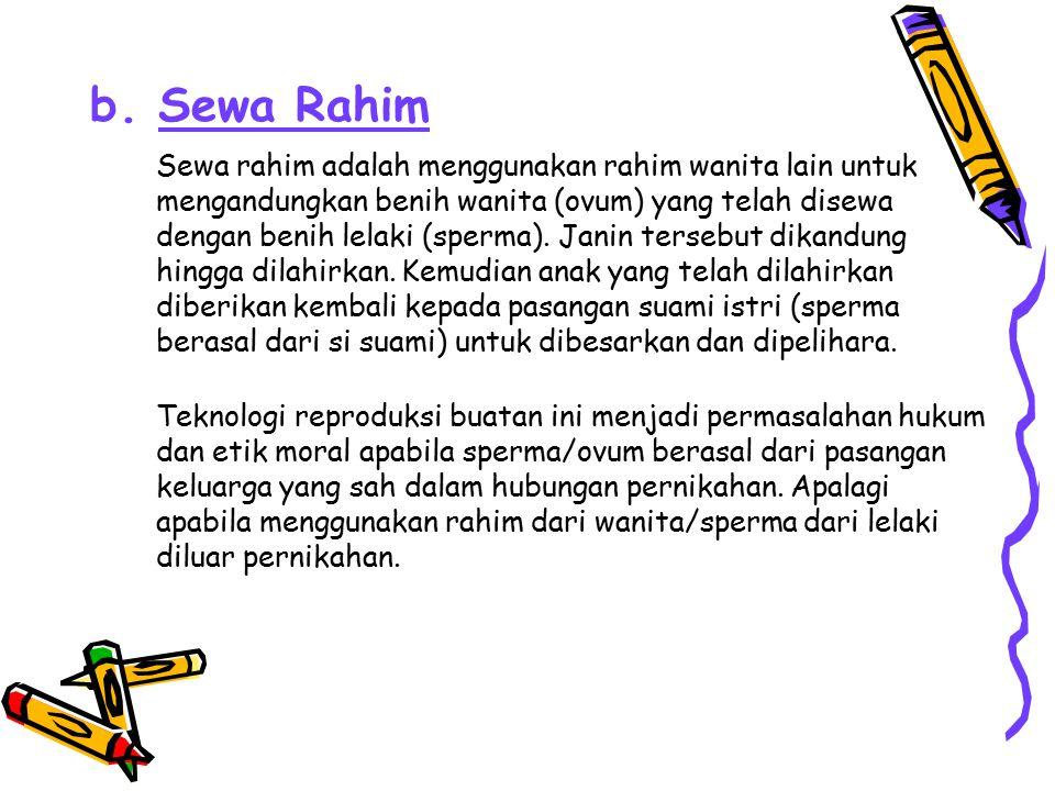 b. Sewa Rahim
