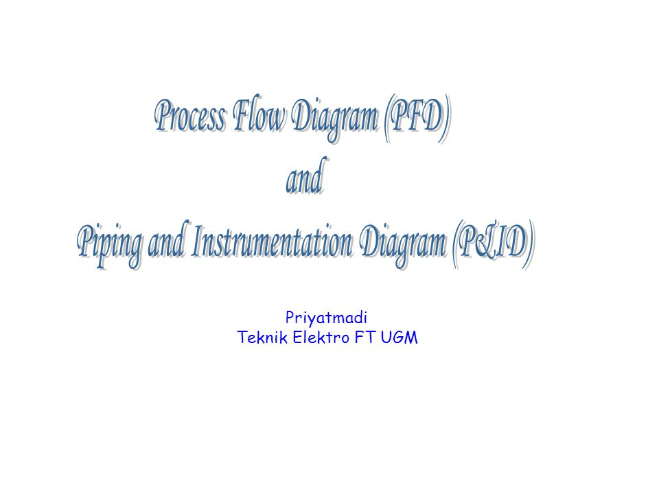Process Flow Diagram (PFD) and