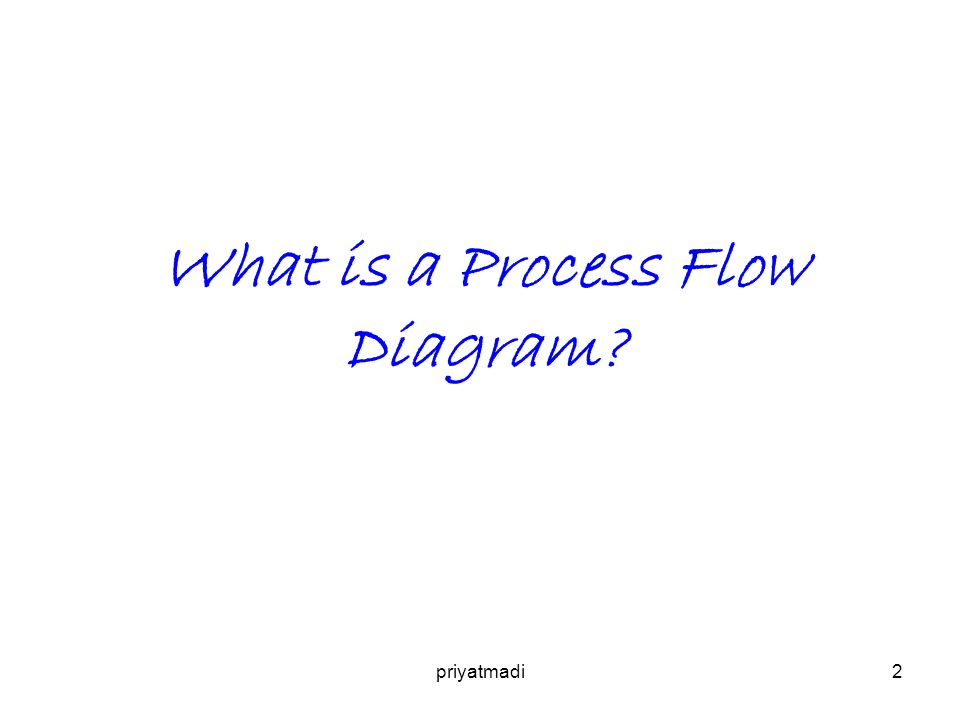What is a Process Flow Diagram