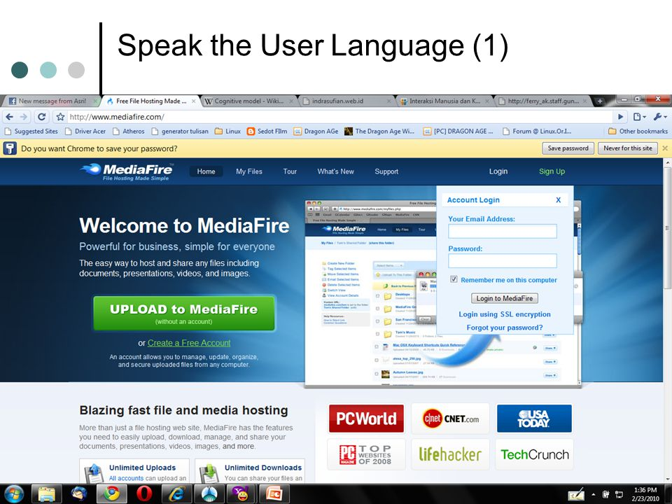Speak the User Language (1)