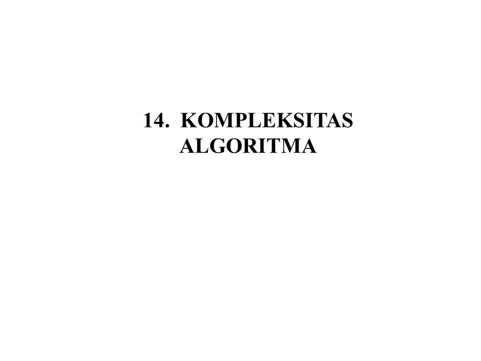 14. KOMPLEKSITAS ALGORITMA