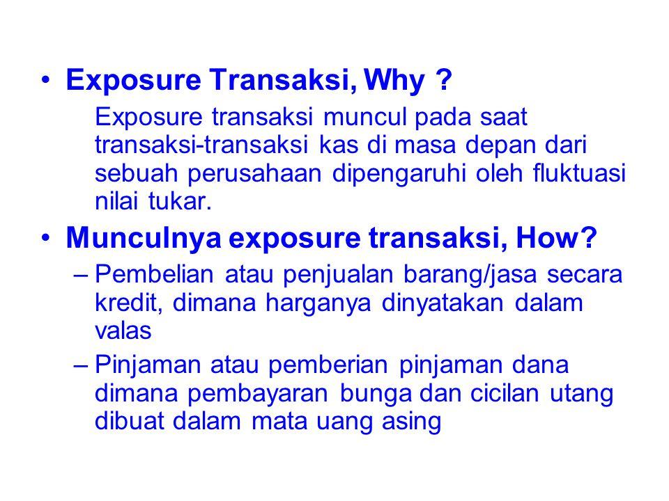 Exposure Transaksi, Why
