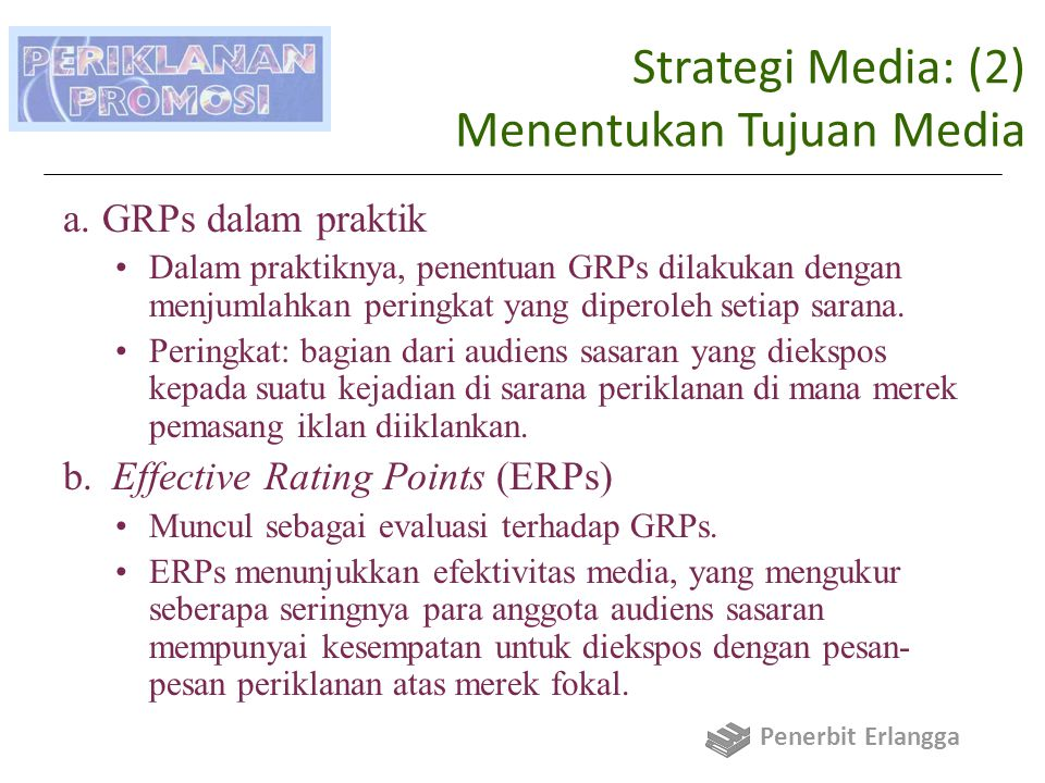 Strategi Media: (2) Menentukan Tujuan Media