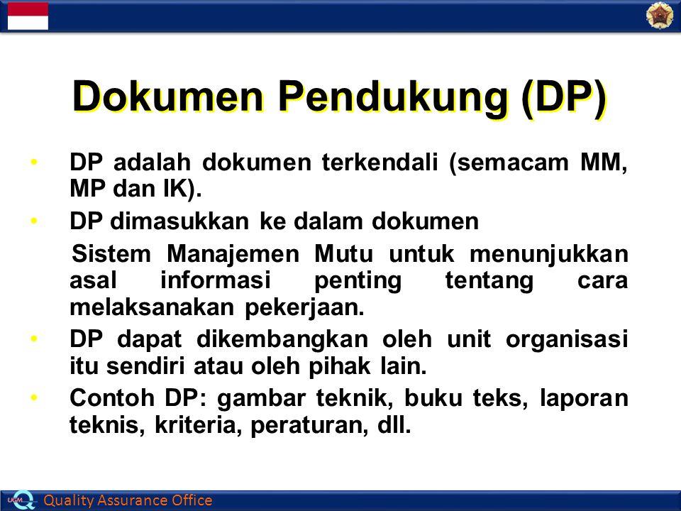 Dokumen Pendukung (DP)