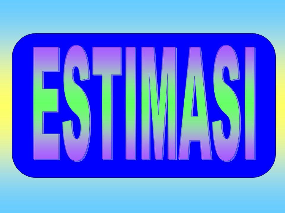 ESTIMASI