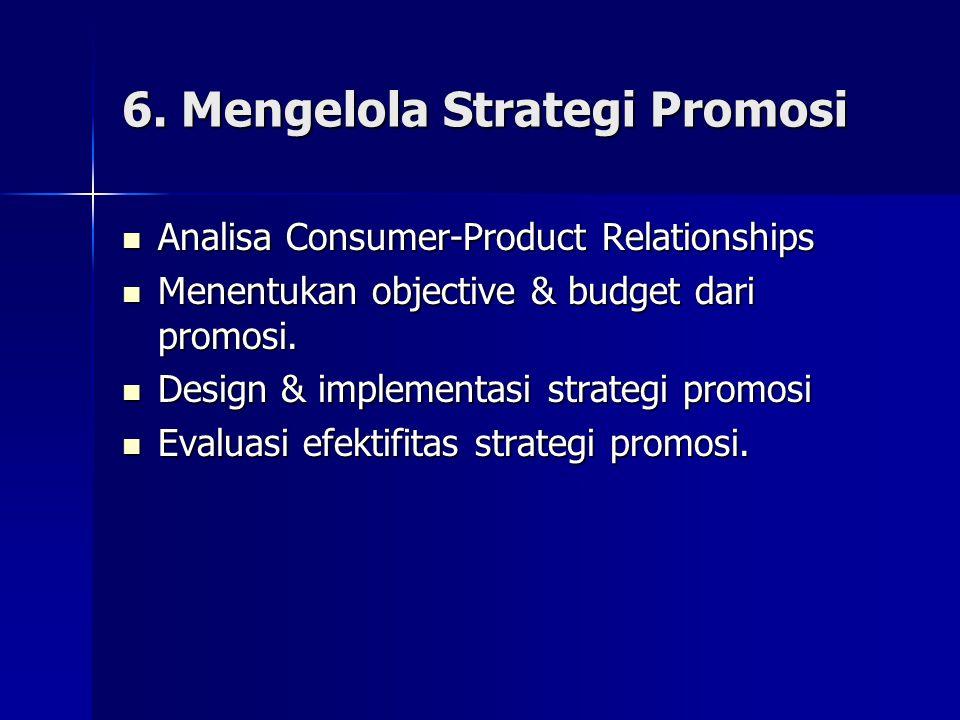 6. Mengelola Strategi Promosi