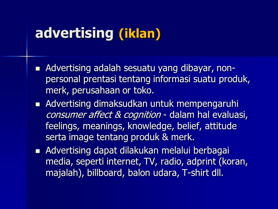 Types of TV Commercials