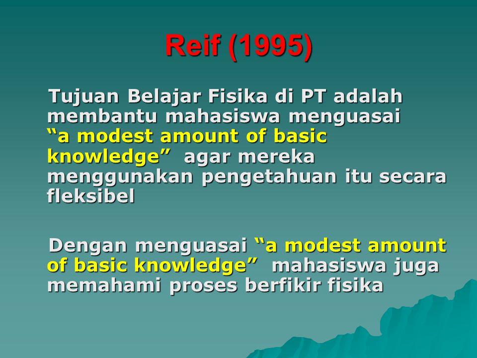 Reif (1995)